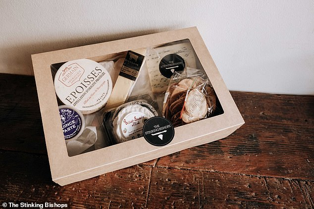 Other cheese hampers are also available to buy online and are cheaper in price as they don't include any wine.