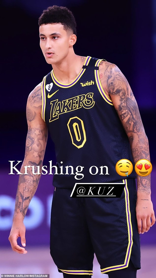High NBA drama: Kuzma's Laker are currently facing off against the Houston Rockets in a Western Conference playoff series