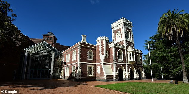 The High Court of Auckland (pictured) heard on Tuesday Malcolm's death came about an argument between his stepfather and his mother Savanna Bell