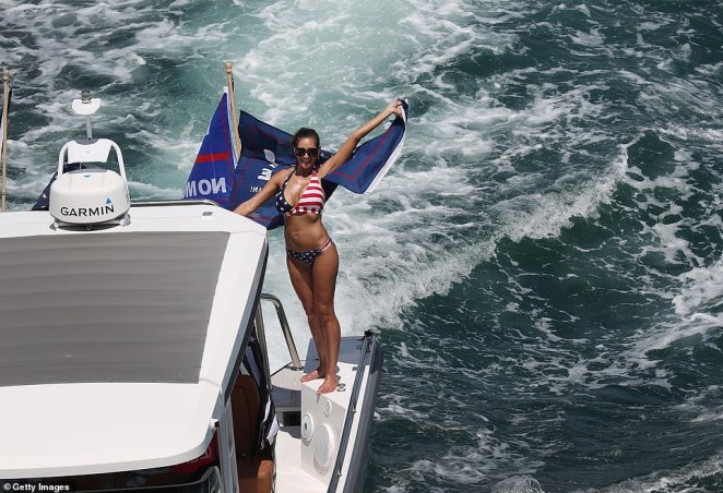 Labor Day is traditionally a big weekend for boating in the US, and this year's comes just two months before the highly polarized presidential election in November