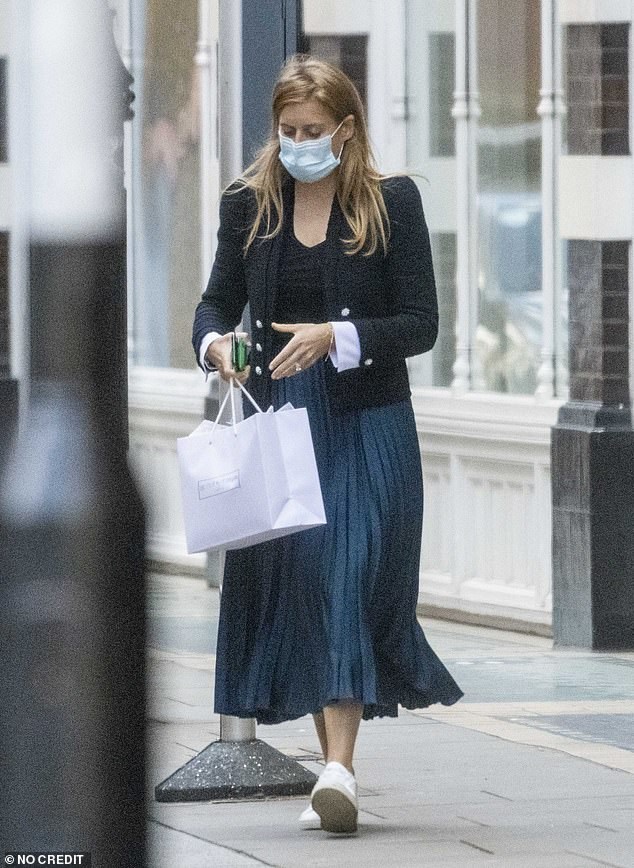 Princess Beatrice carried a bag from upmarket high street children's brand The Little White Company