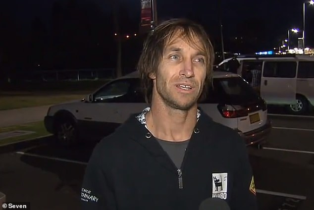 Surfer Jade Parker told 7News he first spotted a school of fish and up to 30 birds near the victim, which is what attracted the shark to the surfer