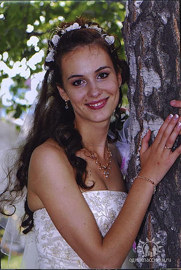 After winning her beauty crown aged 18, Dolganovskaya wed a local tycoon and politician named Vadim Dolganovsky