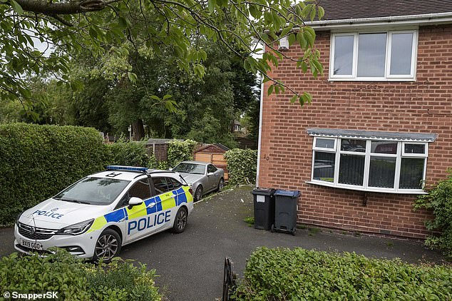 West Midlands Police arrested a man at a house on Nately Grove in Selly Oak, Birmingham in a dramatic dawn raid yesterday