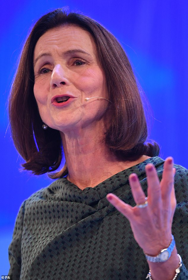 Dame Carolyn Fairbairn, director-general of the CBI, said the furlough system could be replaced with a 'much less expensive' new scheme which would allow a smoother transition