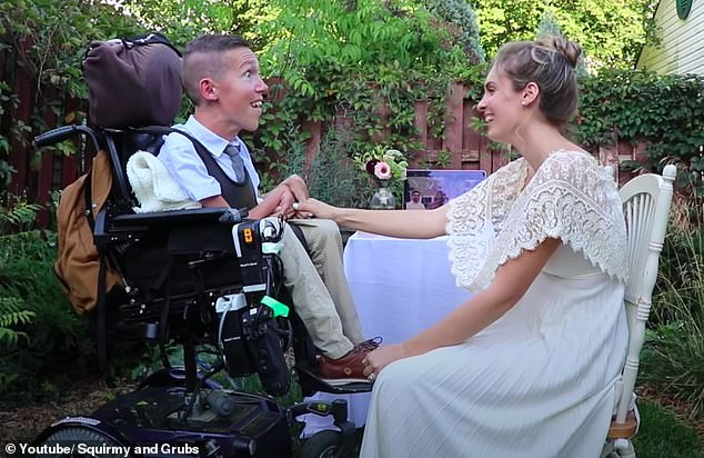 Story: Shane was born with Spinal Muscular Atrophy (SMA), a neuromuscular disease that causes muscles to deteriorate over time. He's in a wheelchair since he was two years old