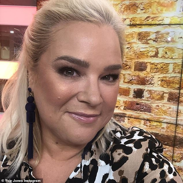'I was having three coffees': On Tuesday, former Gogglebox star Yvie Jones, 47, (pictured) revealed she became reliant on caffeine drinks while battling a mystery medical condition
