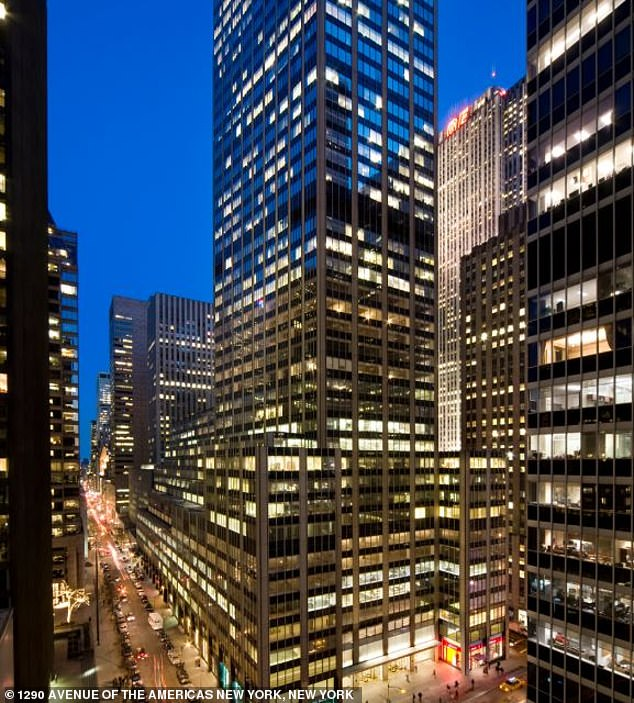 Office properties, like Trump's 30 per cent stake in 1290 Avenue of the Americas in New York City, have taken a hit, with this particular property an estimated $109 million down