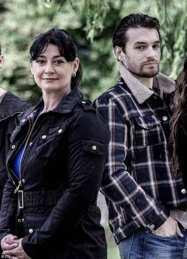 Handsome!The hit ITV soap has teased the arrivals of Moira Dingle's handsome brother Mackenzie (pictured), Manpreet Sharma's sister Meena and Aaron Dingle's new love interest Ben