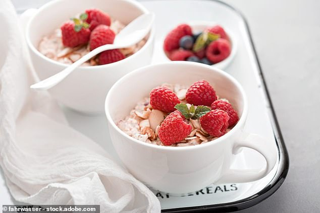 This scrumptious bircher with chia recipe is a speedy breakfast dish that's packed with flavour