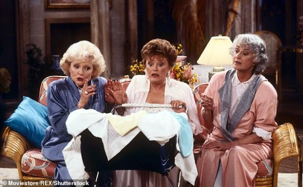 Betty White, Estelle Getty and B. Arthur are featured in an episode of the beloved show