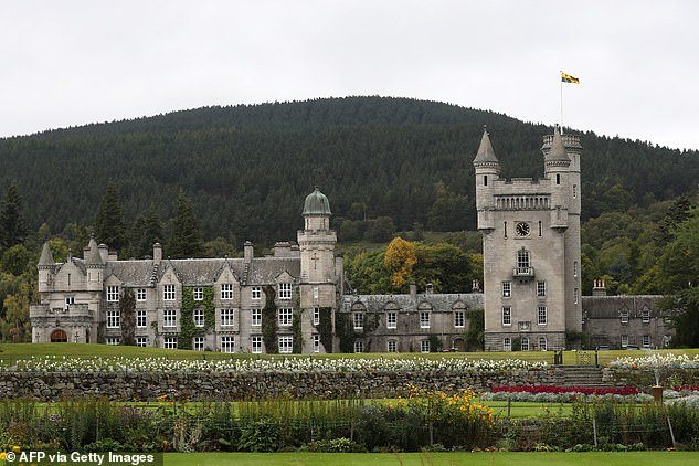 The Queen and the Duke of Edinburgh arrived at Balmoral (pictured), in Aberdeenshire, at the start of August and have enjoyed visits from family in the weeks since. Pictured: Stock image