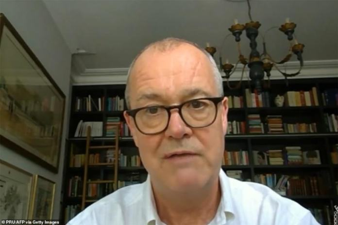 Chief scientific adviser Sir Patrick Vallance, pictured, was also in agreement over the drastic new measures being announced
