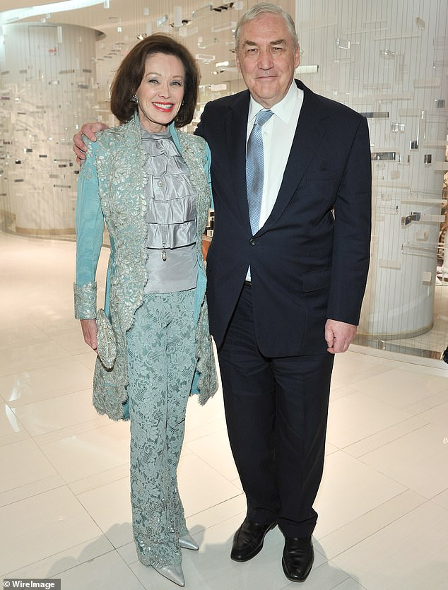 Barbara Amiel and Conrad Black attend Hudson's Bay And The Isabella Blow Foundation Present Fashion Blows at The Hudson's Bay on October 22, 2014 in Toronto, Canada