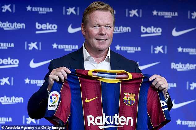 New Barcelona manager Ronald Koeman looks to rebuild the squad this summer