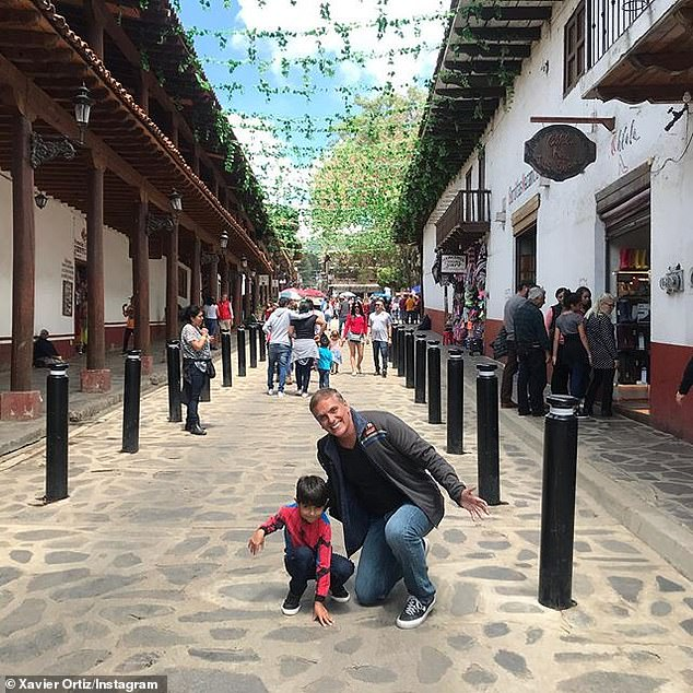 Father: Xavier is survived by an 8-year-old son, named for him, with his second ex-wife Carisa de León; seen with Xavi on Instagram in June, 2019