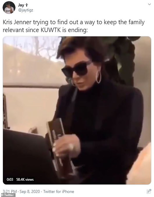 Night and day: Kim's mercurial moods were in stark contrast to her mother Kris Jenner's reputation for being a calculating businesswoman