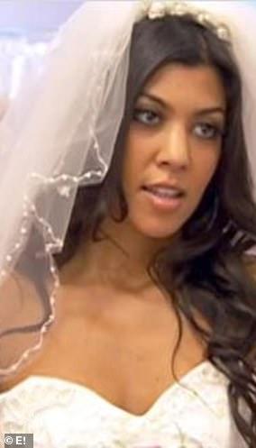 Kourtney Kardashian in 2007