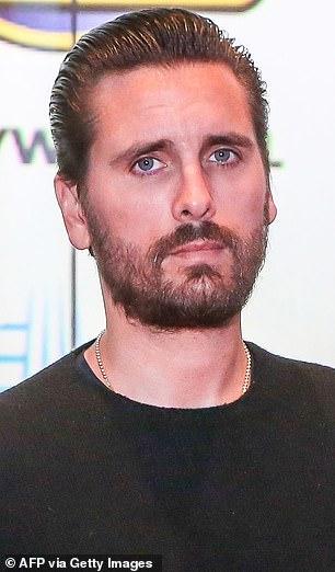 Scott Disick in October 2019