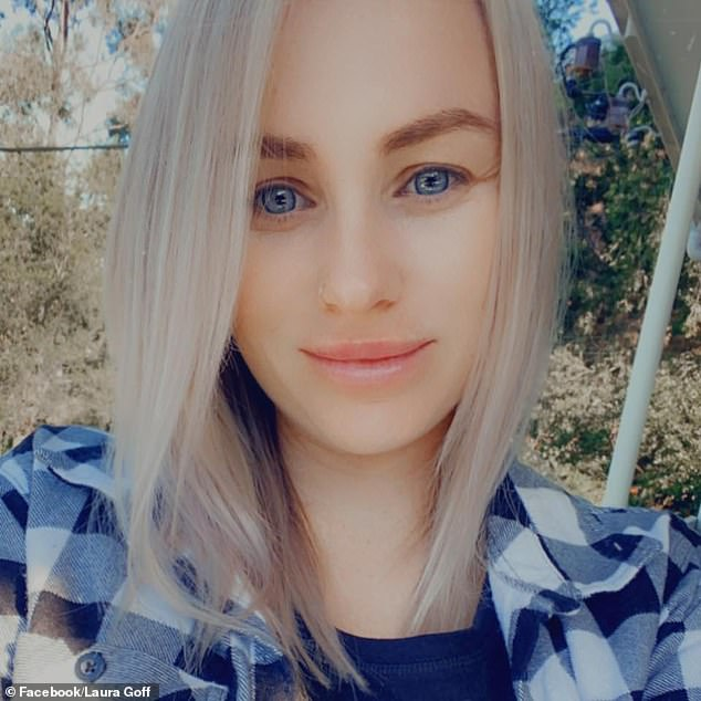 Ms Goff said it has been hard not knowing when her husband will return home from Queensland as strict border restrictions make it unfeasible for him to visit on his days off