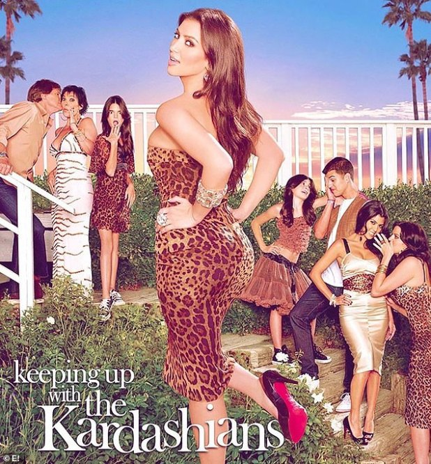 Throwback!  KUWTK originally premiered in October 2007 - eight months after Kim's 2002 sex tape leaked and was purchased for $ 1M for Vivid Entertainment