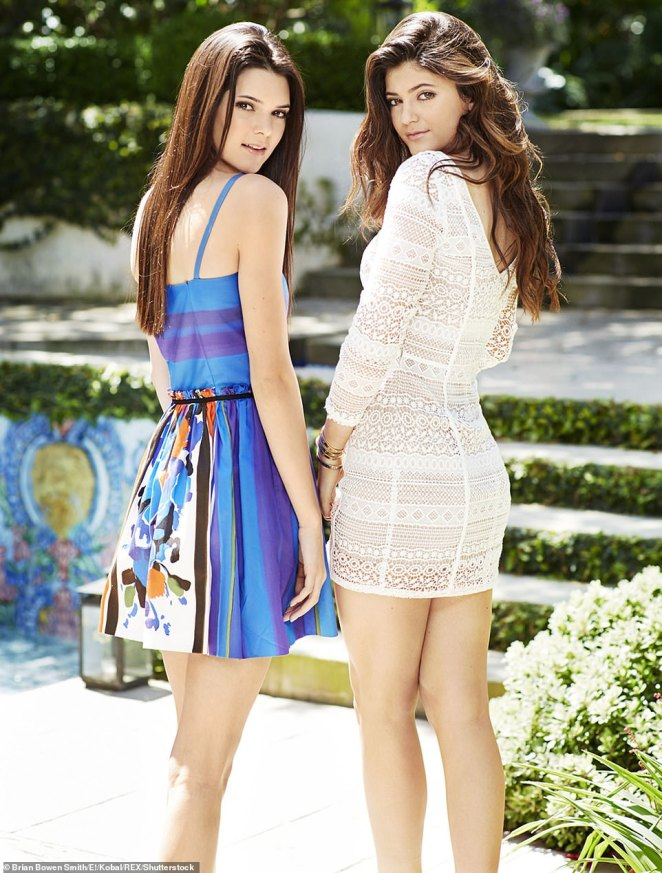 Stars were born: The show made names out of Kendall and Kylie Jenner who are now huge celebrities in their own right, with Kendall becoming a talented super model and Kylie a make-up mogul
