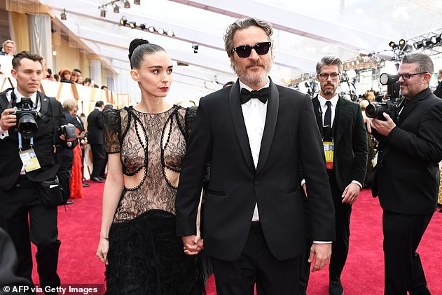Criteria: To achieve the second standard, a film must meet at least one of the three criteria below (Joaquin Phoenix and Rooney Mara pictured in February)