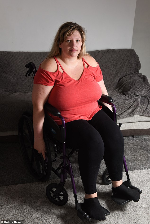 Miss Horton has been with her fiance LeeSouthwell for ten years and says that she couldn't carry on without him