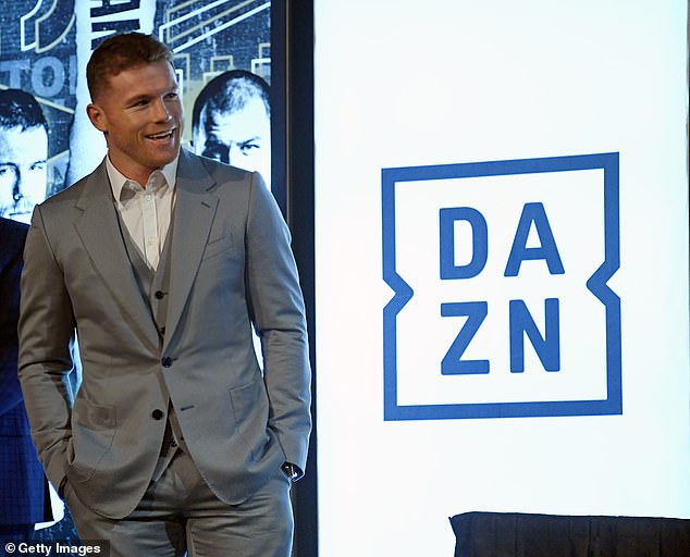Almost two years ago, Alvarez penned a 10-fight deal with DAZN worth$350million (£270m)