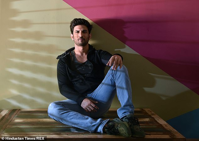 The suicide of actor Sushant Singh Rajput, pictured, sparked a media storm in India. Rajput, 34, was found dead in June in his Mumbai apartment. He was a rising star in India's popular Hindi film industry