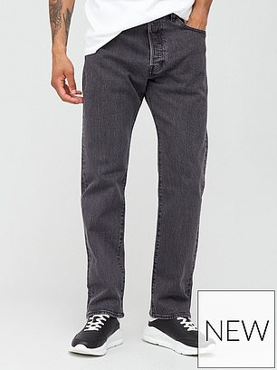 Levi's 501 93 Straight Fit Jean (were £95, now £76) at Very