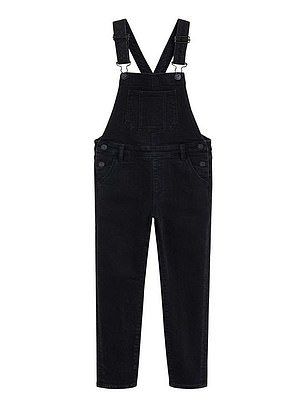 Mango Girls Denim Dungarees (£26) at Very
