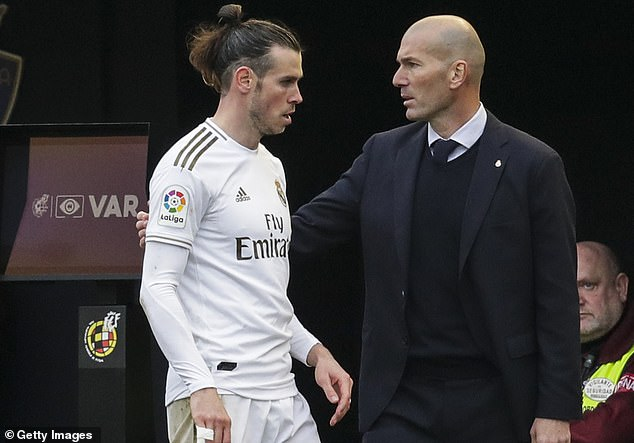 Bale is having talks with Real Madrid head coach Zinedine Zidane over his future at the club