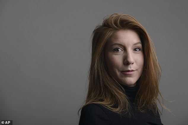 Kim Wall's (pictured) dismembered body parts were found submerged in the water off Copenhagen after she interviewed Madsen on his submarine on August 10, 2017