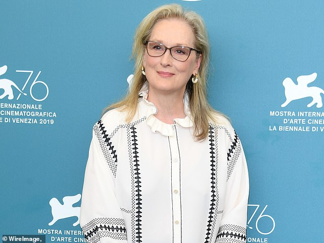 Family trouble:Meryl Streep's nephew, 31-year-old Charles Harrison Streep, was arrested this week. Here she is seen in September 2019