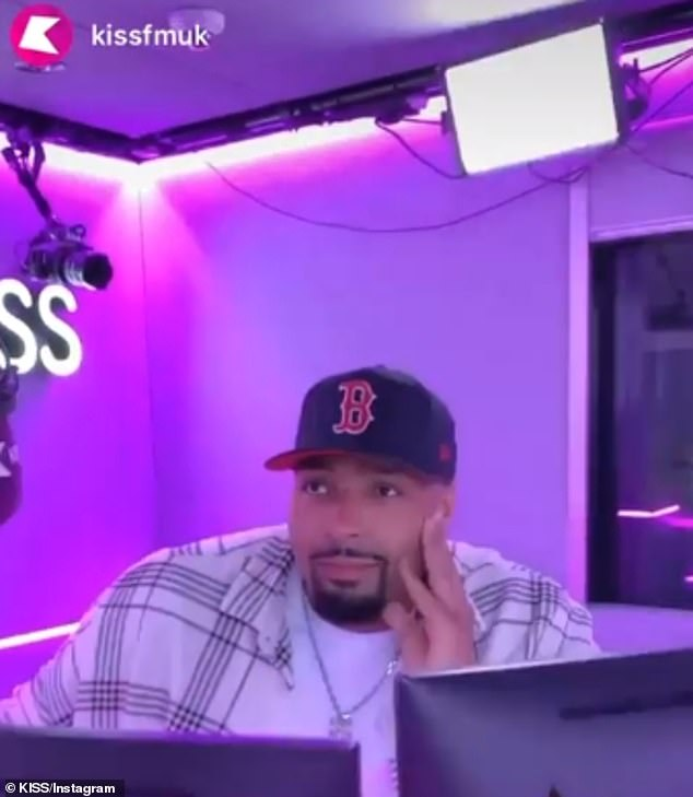 Upsetting: The new figures come as dancer and brother of Ashley Banjo, Jordan, 27, got teary as he discussed the 'horrible' messages the group have received on his KISS radio show