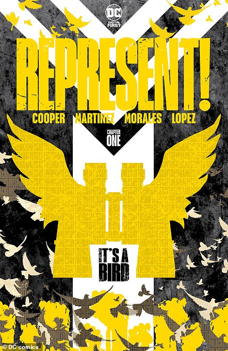 The graphic novel, published digitally by DC Comics, comes as a first in a series called ¿Represent!¿ which features the works of writers traditionally underrepresented in the mainstream comic book medium, including people of color and members of the LGBTQ community