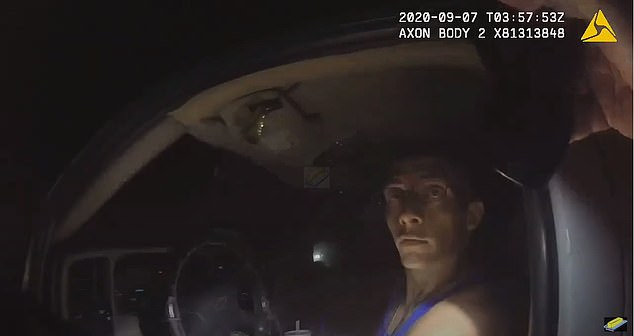 When a Whitfield County Sheriff's deputy approached the driver's side window, he asked the driver, who has been identified as Dalton Lee Potter, 29, for his identification