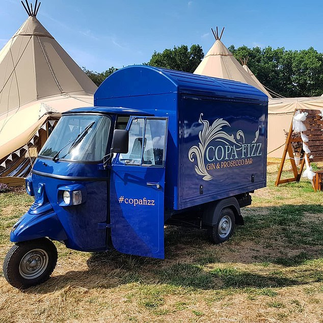 This year Copa Fizz expected to turn over in excess of £60,000 and was set for its busiest season yet, with race meetings, weddings and Christmas parties and markets