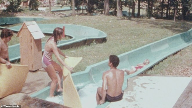Action Park, above, was a hug hit among kids and teens during the 1980s and '90s. But many of the rides caused injuries and newspapers started covering them, according to Class Action Park. The attention soon would reveal that the park was not insured. 'Gene didn't believe in the concept of insurance,' said documentary co-director Seth Porges, adding, however, that his lease required that he have it