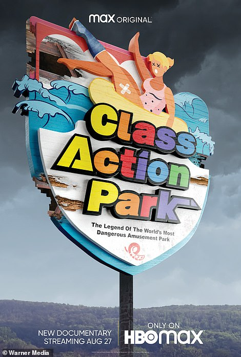 Above, the poster for a new documentary called Class Action Park that looks at the nostalgia for those in New Jersey and New York who remember it as a rite of passage during the 1980s and '90s. But it also exposes the water park's underbelly and its tragedies. Six people died either at the park or after taking one of its rides