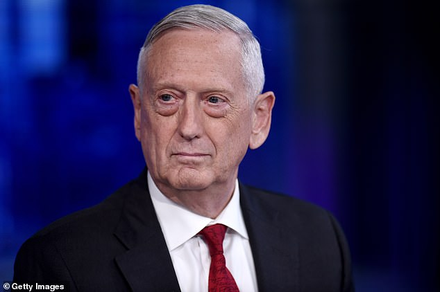 Former Defense Secretary James Mattis overheard the comment and also told Woodward he believed Trump was 'dangerous,' 'unfit' and said he had 'no moral compass'