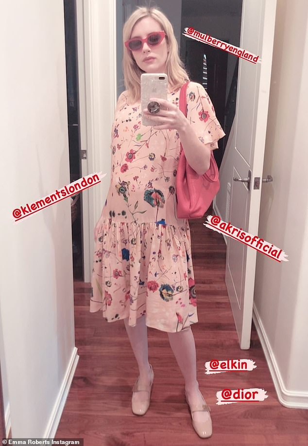 Patterns: The Scream Queens actress has long been a fan of printed flowing dresses and colorful looks as she frequently dresses her petite frame in girlish patterns