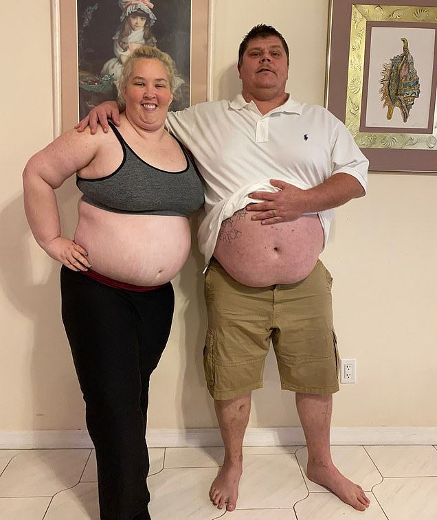 She also received a birthday shout out from her mother Mama June, who she is currently estranged from following the 41-year-old's battle with drug addiction and spending up to $2,500 on meth and crack cocaine.Last month, DailyMail.com revealed Mama June and her boyfriend Geno Doak (pictured together) were treating themselves to makeovers after claiming they were seven months sober