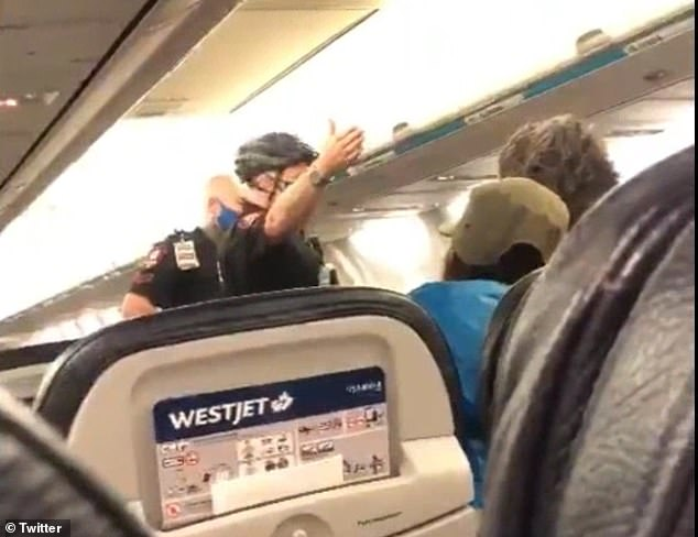 Passenger Safwan Choudhry was traveling with his wife, three year-old-daughter Zupda and nineteen-month-old daughter Zara when the mask dispute arose. He claims it was because crew wanted him to put a mask on Zara when she is under the age requirement
