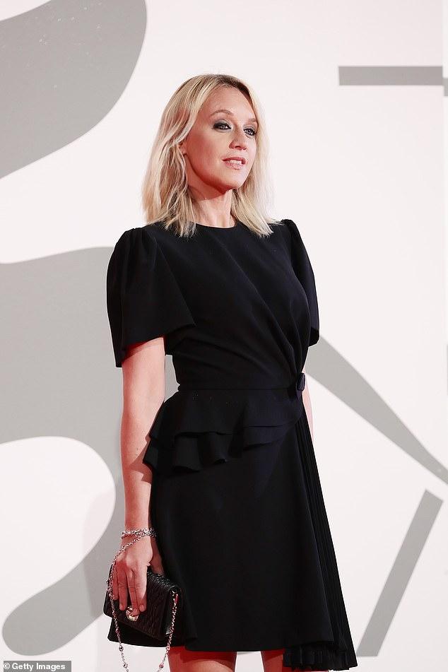 Superb: Ludivine Sagnier, member of the jury, was also present in a black mini-dress.