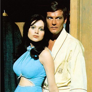 Madeline Smith who starred asMiss Caruso in the Bond film Live And Let Die (pictured), says Bond girls have been trailblazers