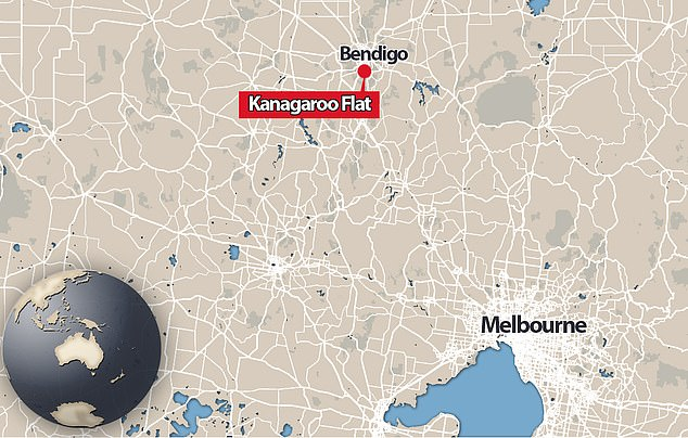 A car was turning toward a slip lane on High Street in Kangaroo Flats, 5km south-west of Bendigo's CBD when it collided with the child about 7.20pm on Wednesday