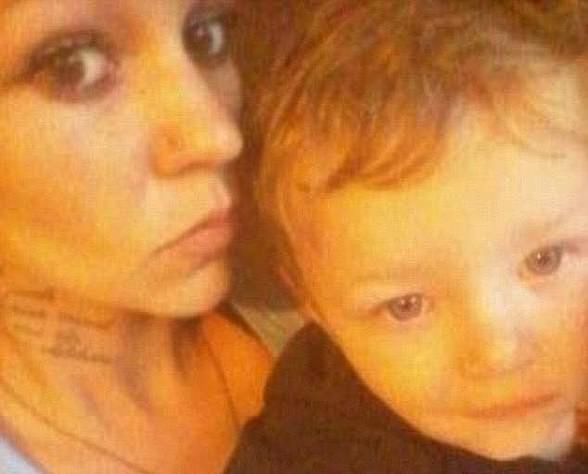 The family had been known to the child safety department since before Mason's birth in 2014. Mason is pictured with his motherAnne-Maree Lee