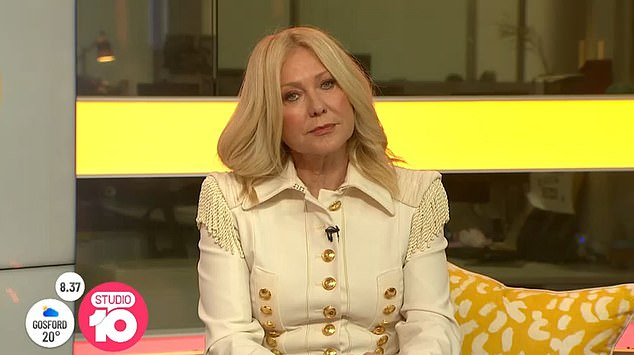 Sad: The 66-year-old, who joined Studio 10 as a part-time panellist in September 2018, fought back tears as she addressed her redundancy on air last month, telling viewers that she treasured her time on the show